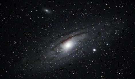 Galaxy. Andromeda's galaxy