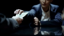Employee gets money for disclosing confidential info, corruption in business
