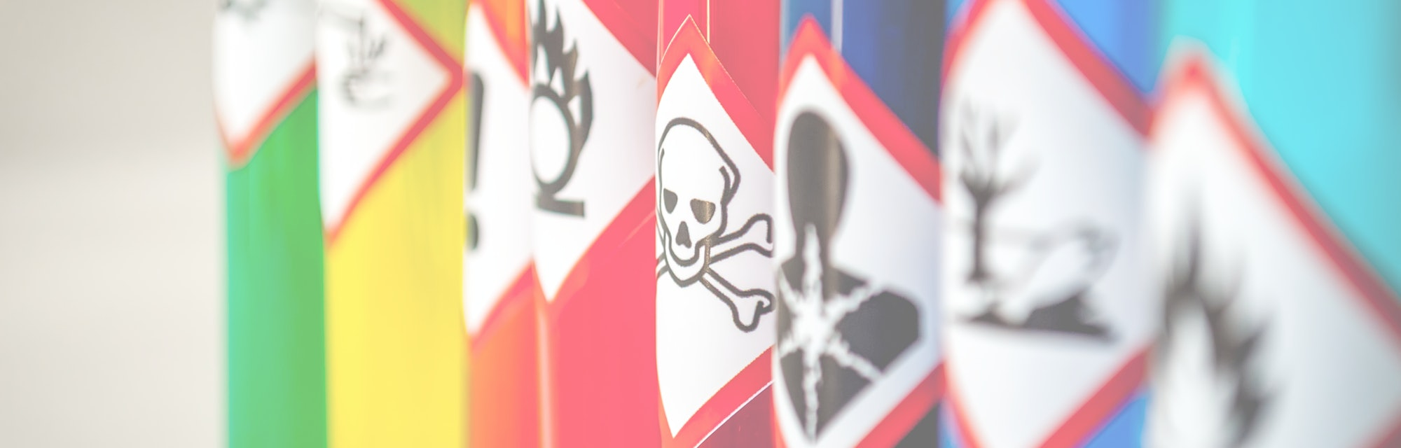 Chemical hazard pictograms Toxic focus