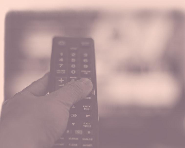 Binge watching the favourite TV show