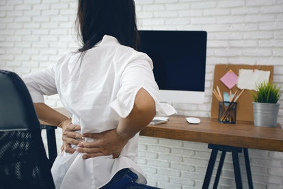 Experts say your back pain could be part of your body ovulating and your cycle.