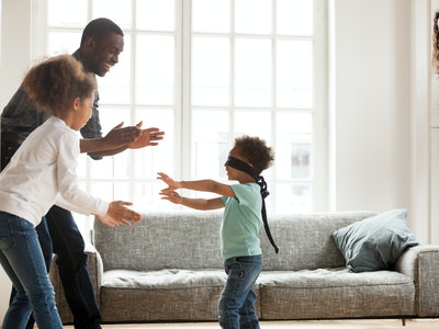 There are tons of indoor games to play with your kids to keep them from getting too bored.