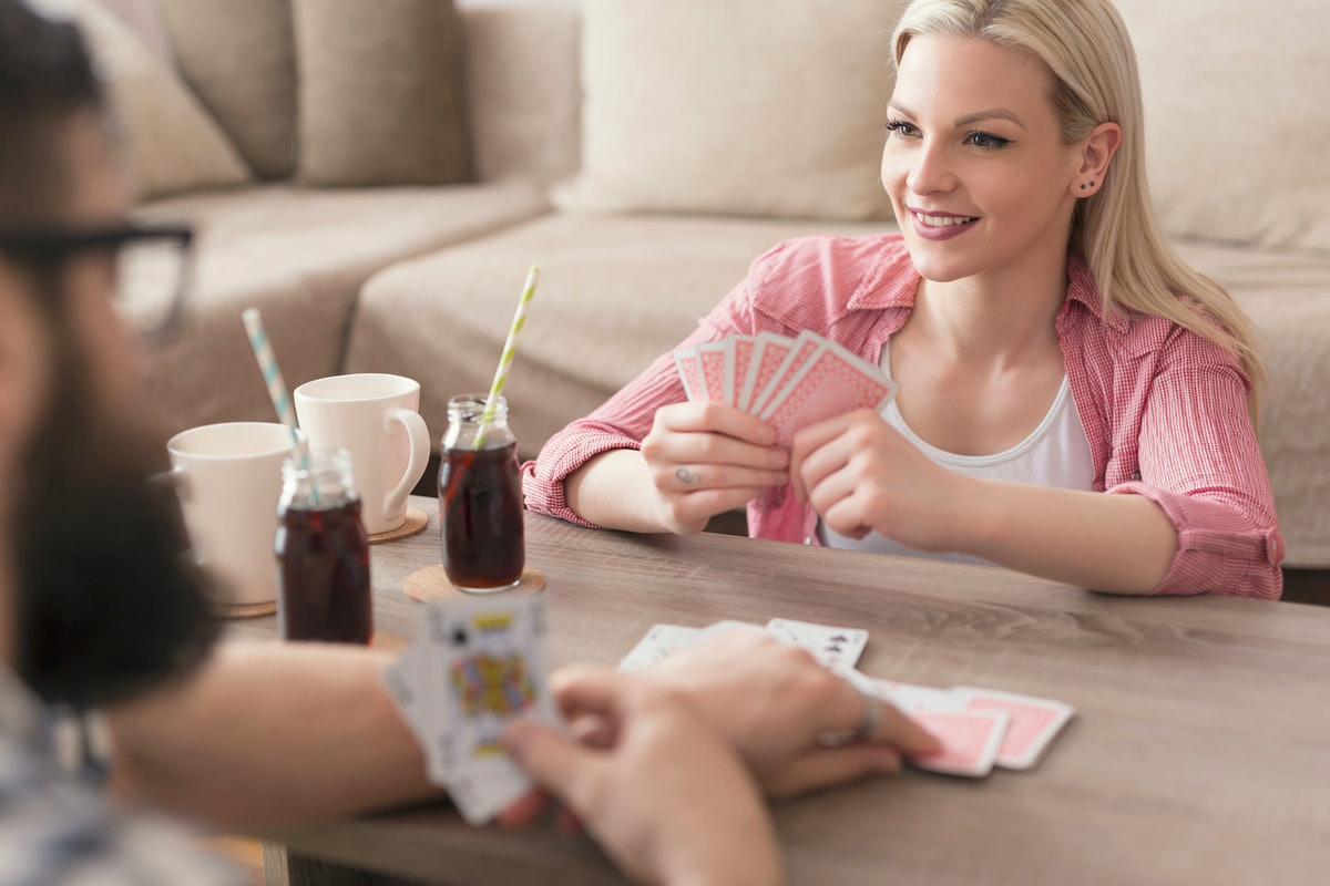 One of the indoor date ideas you might not think of is having your own casino night.