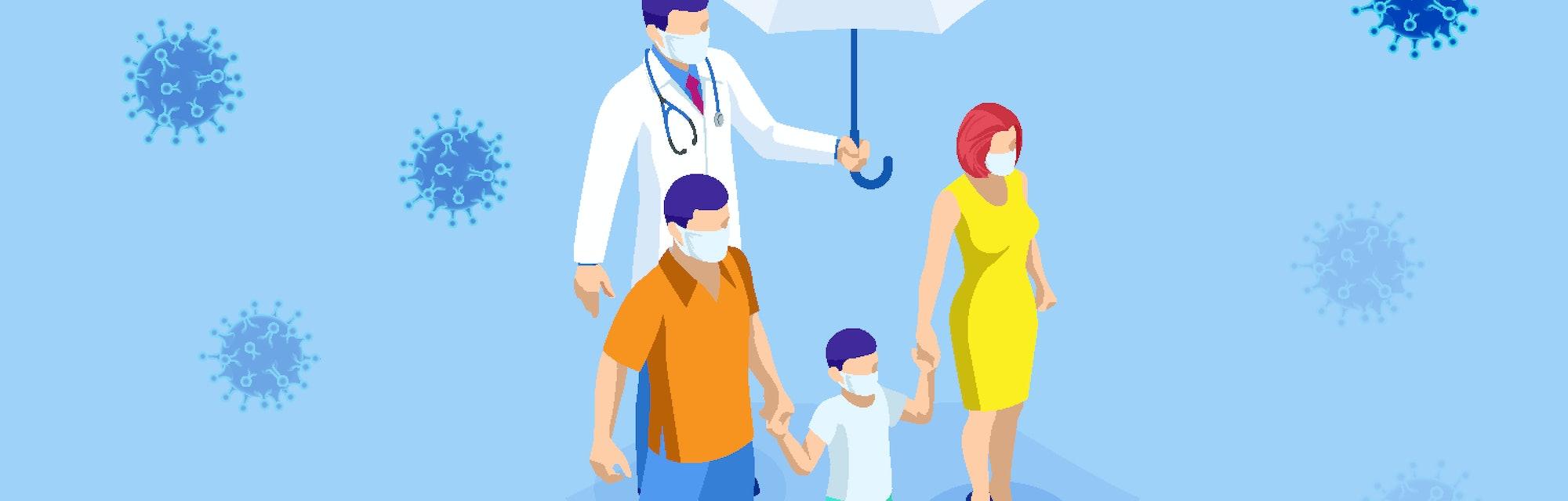 China battles Coronavirus outbreak. Coronavirus 2019-nC0V Outbreak, Travel Alert concept. The virus attacks the respiratory tract, pandemic medical health risk