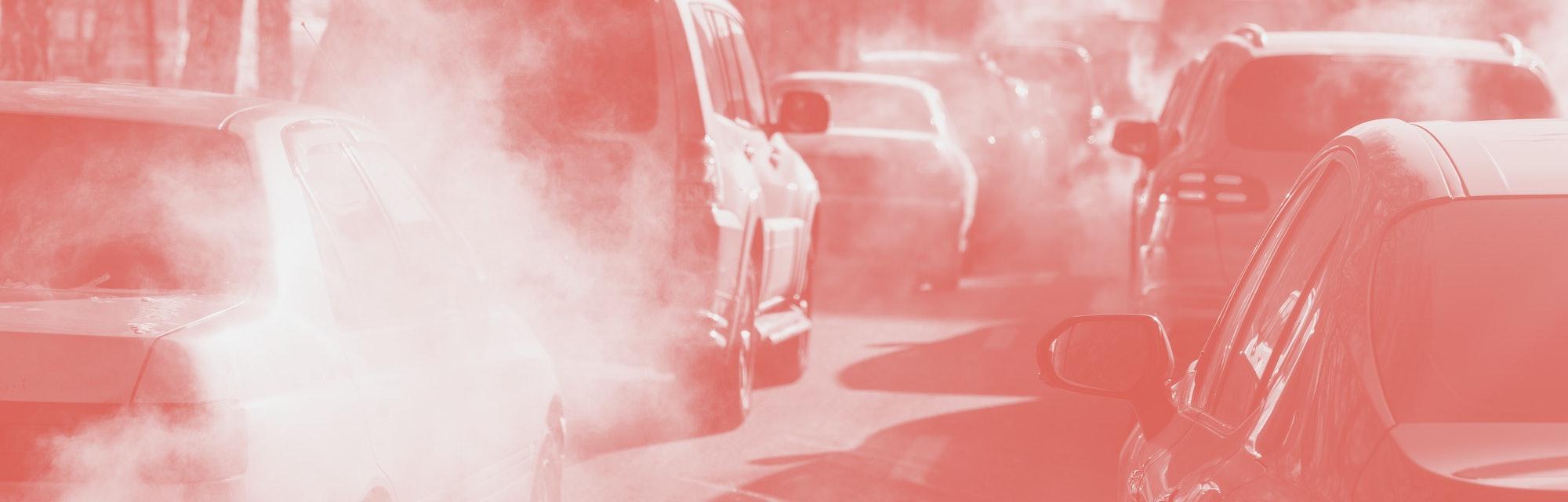 pollution car exhaust traffic