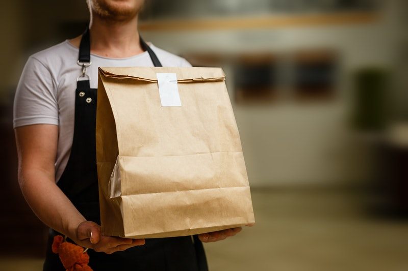 Food delivery may be a safer option during the coronavirus outbreak.