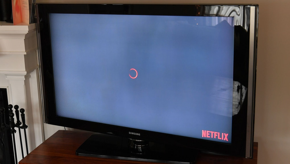 Netflix loading screen