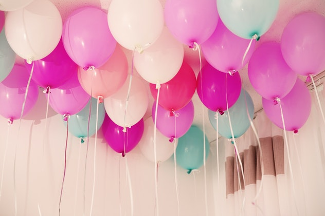 Filling a room with balloons is a fun april fools' day prank