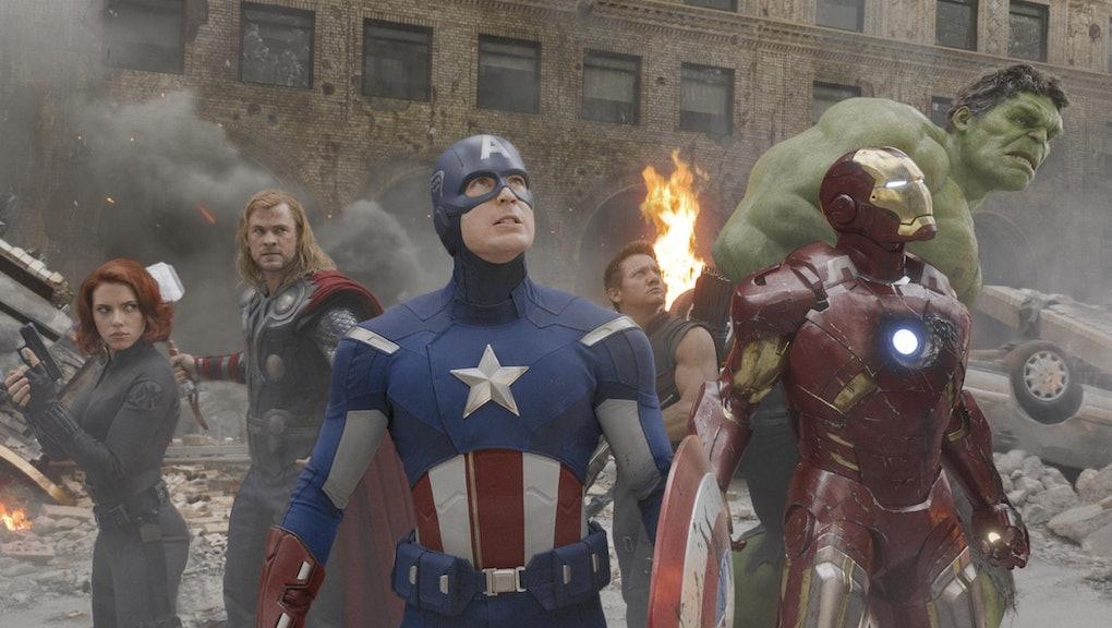 Scarlett Johansson, Chris Hemsworth, Chris Evans, Jeremy Renner, Mark Ruffalo