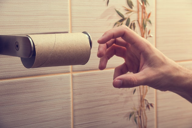 empty toilet paper roll is a funny april fools' day prank