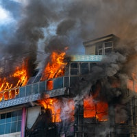 Researchers burned down a fake office to see what they could learn