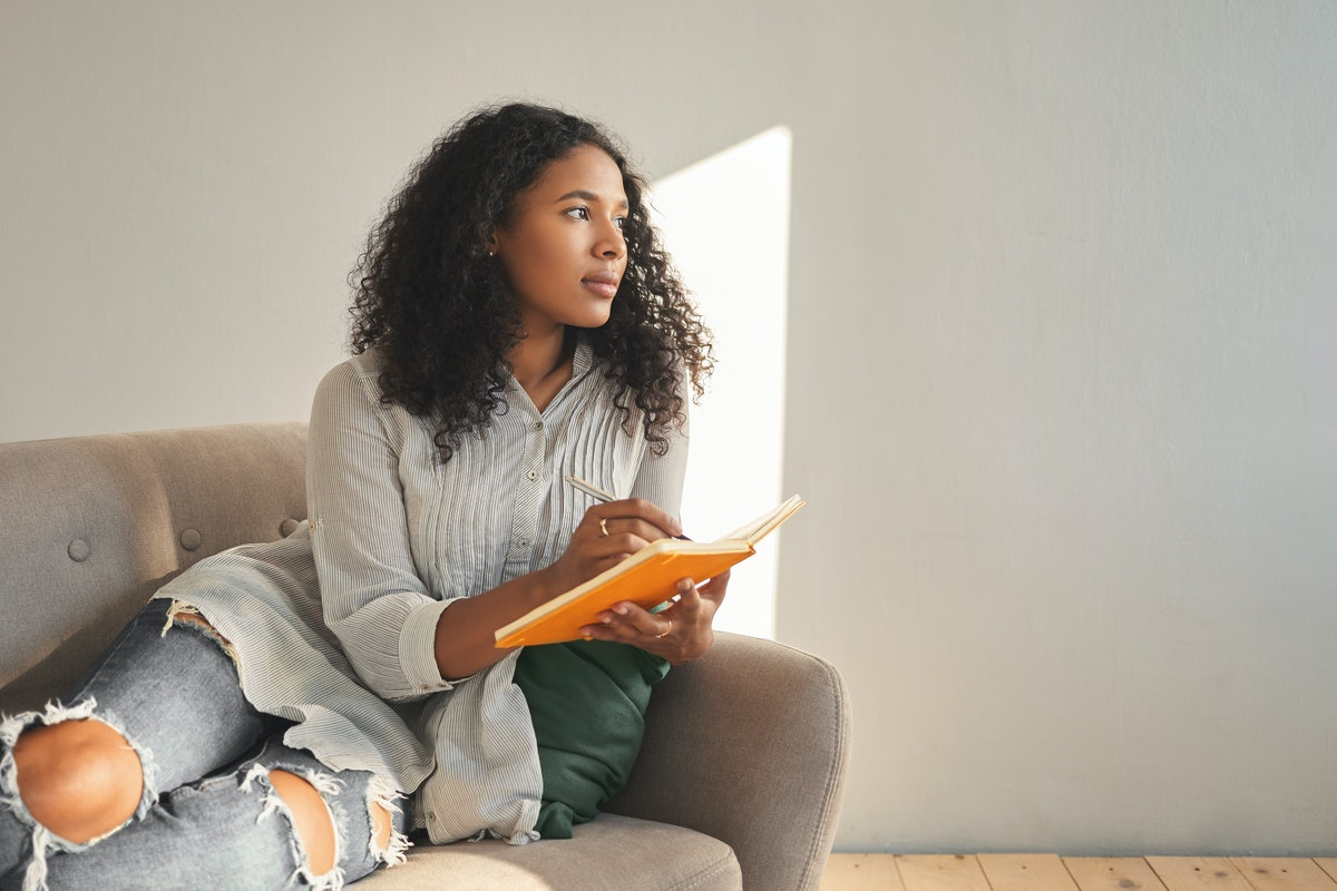 Once you've figured out how to breakup during the coronavirus outbreak, consider journaling as part of your self-care practice.