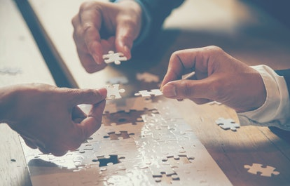 Jigsaw puzzles may help improve things like cognition and collaboration.