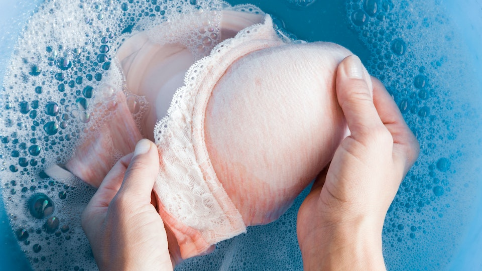 Experts say cleaning your bra could also help relieve your itchy nipples.