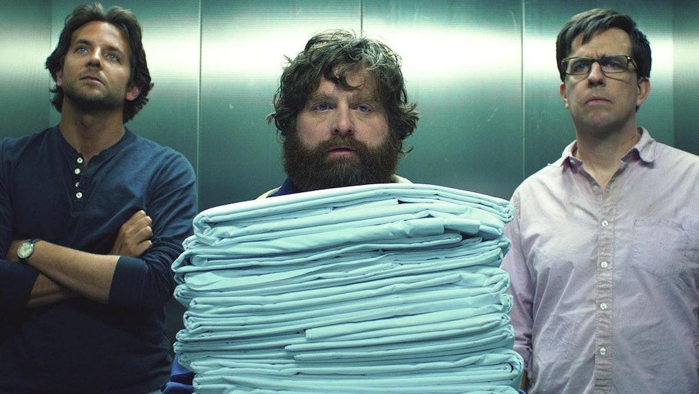 Bradley Cooper, Zach Galifianakis, Ed Helms