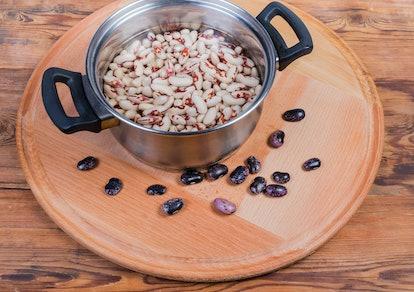 Soak the beans overnight.