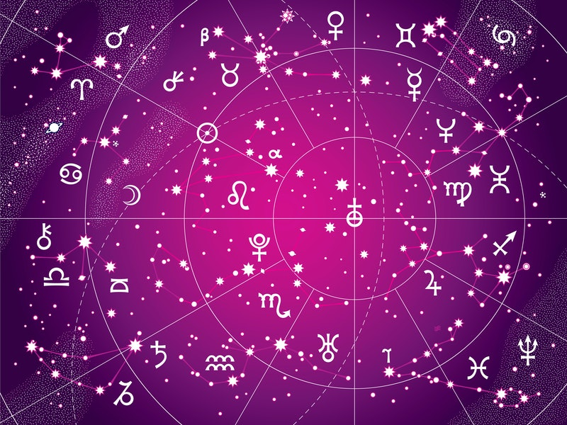 How To Start Reading Your Own Astrology Chart When You're Bored At Home