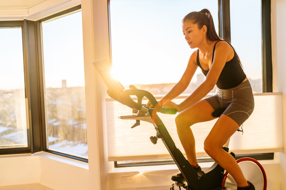 Chase the feel-good benefits of exercise to the end of your ride.