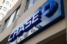 Bank, consumer report, credit report, credit, banks. This Nov. 29, 2018, photo shows a Chase bank lo...