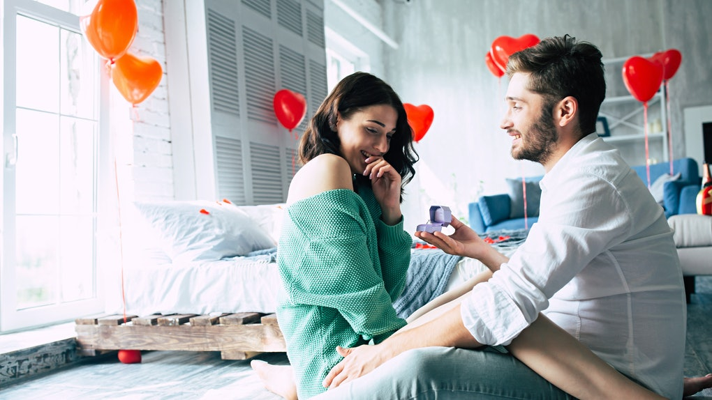 These at-home proposal stories are romantic AF.
