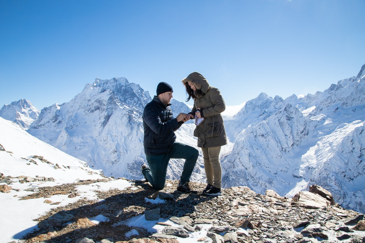 While at-home proposal stories aren't always indoors, they're always special.