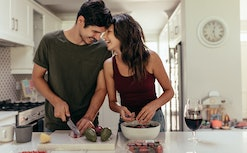 Have a perfect Valentine's Day date at home with these fun ideas.