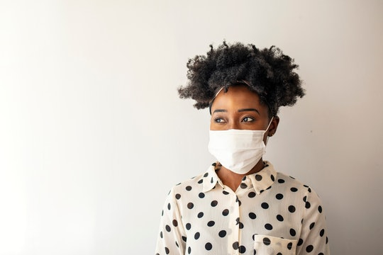 If you're frequently wearing a mask, then you might be dealing with maskne. Bustle spoke to a dermat...