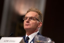 Acting Secretary of the Navy Thomas Modly, on a panel with Director of Defense Capabilities and Mana...