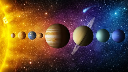 What Are The Major Planets In Astrology?