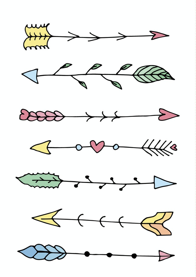 Change up your dividing lines your bullet journal.