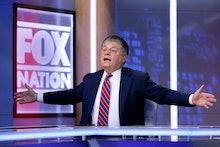 "Fox News senior judicial analyst Andrew Napolitano hosts the inaugural broadcast of ""Liberty File"" o..."