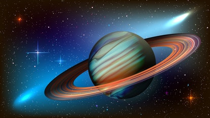 Saturn rules over Capricorn