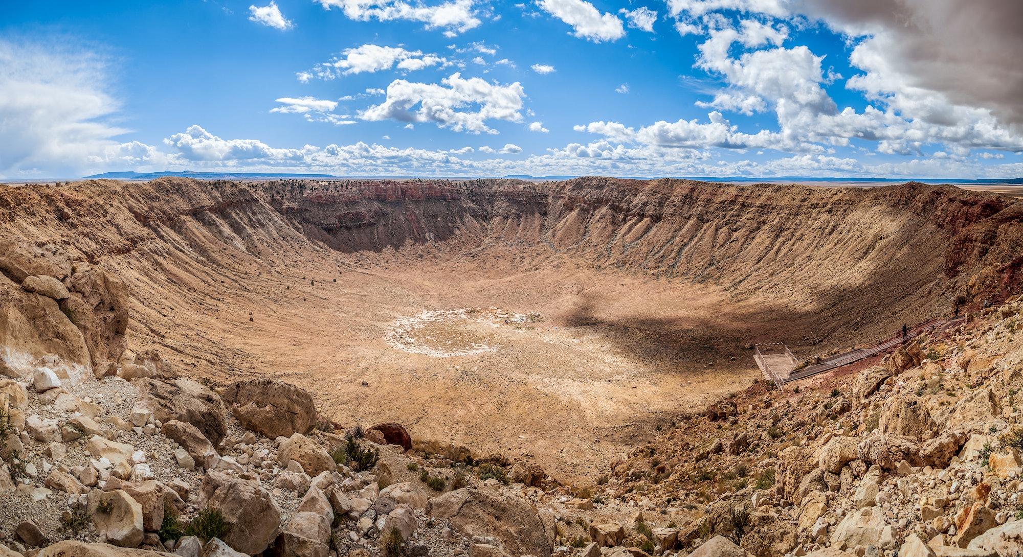 Arizona Meteor Crater, USA