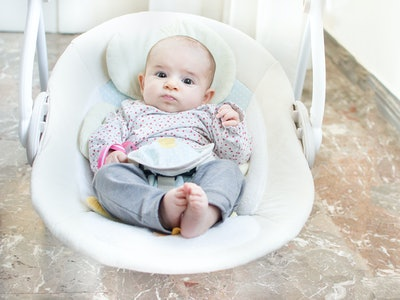 Your baby in a swing means they should have direct supervision, experts say.