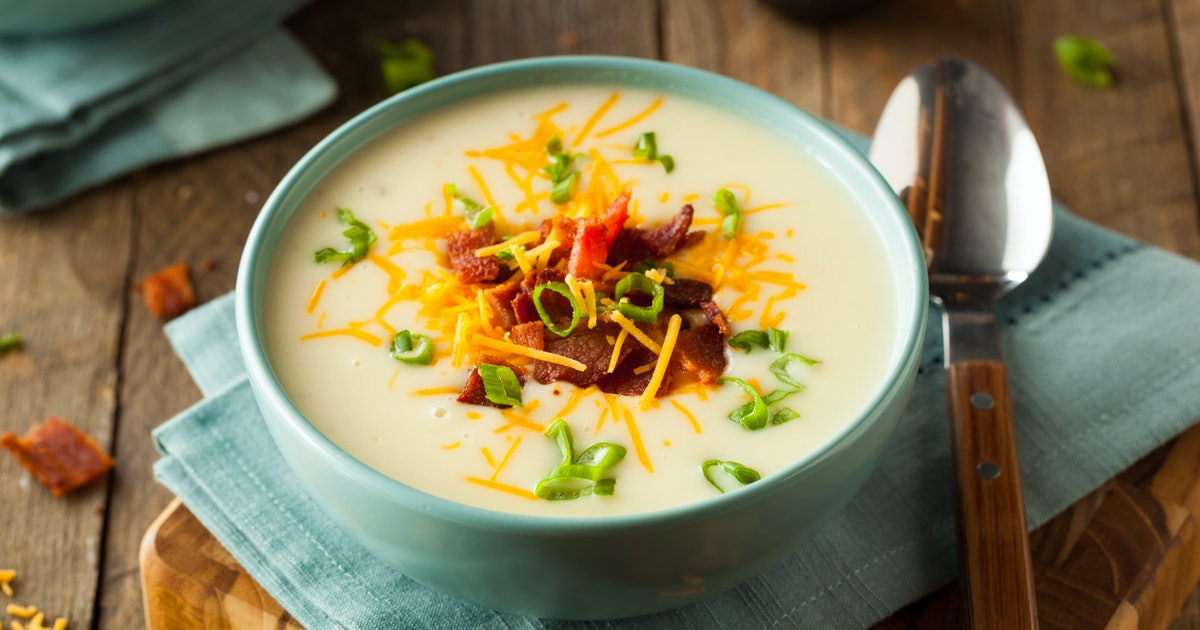 How To Make Disney's Cheddar Cheese Soup Recipe At Home