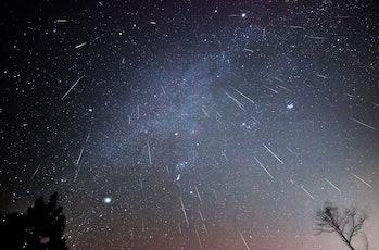 geminid meteor shower image