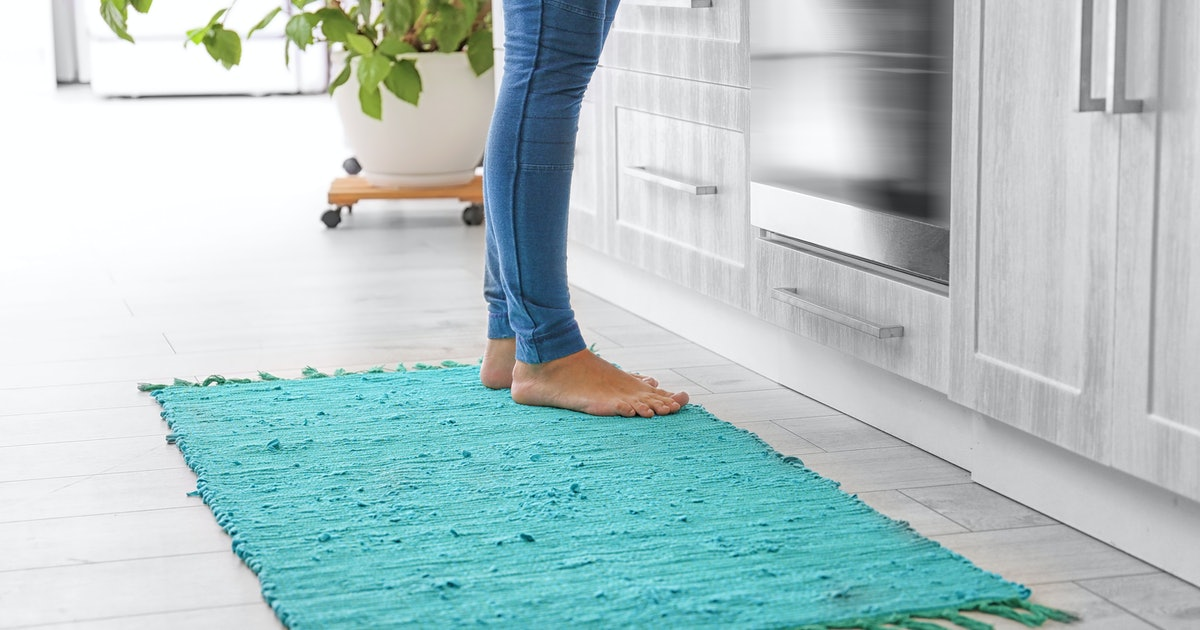 These Are The Most Stylish & Durable Area Rugs To Spruce Up Your Kitchen