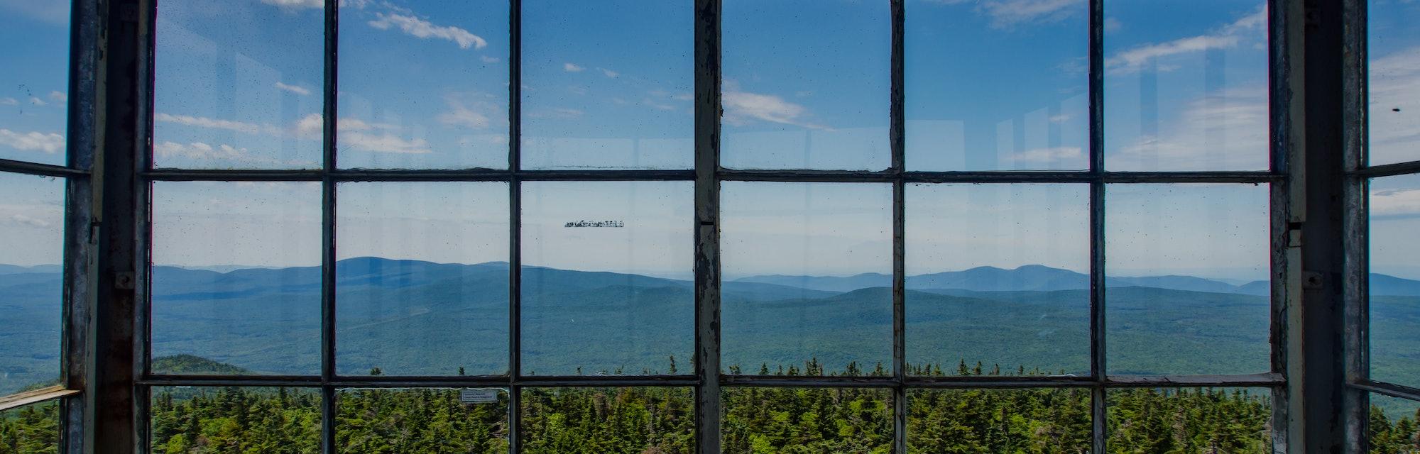 Fire Tower View, Stratton Mountain, Green Mountains, Vermont