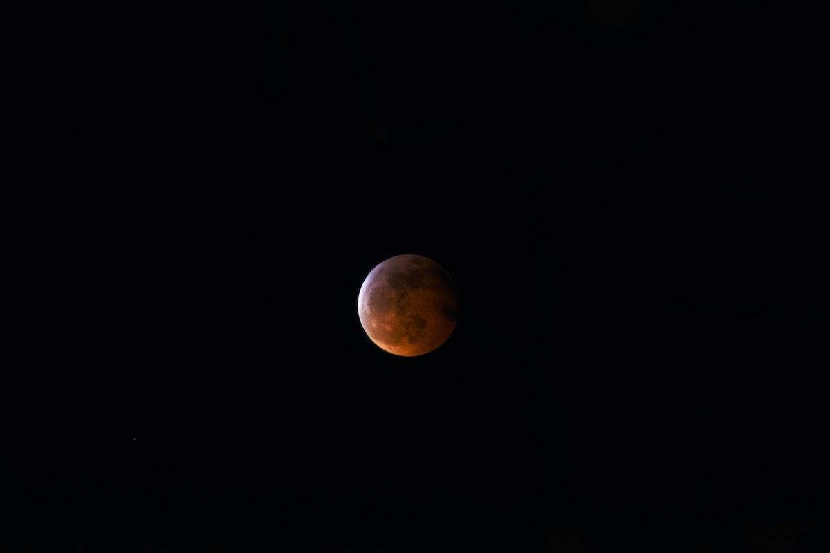 Texas Super Blood Wolf Moon