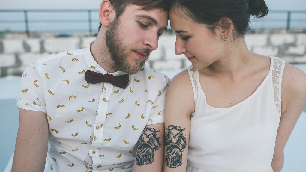 These commitment tattoos to get with your partner show that love is permanent.