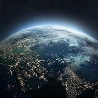 Earth's atmosphere through an alien's eyes