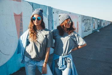 You and your bestie can use these twinning quotes to highlight you matching friend OOTDs.