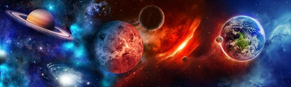 Each of the planets has a different meaning in astrology