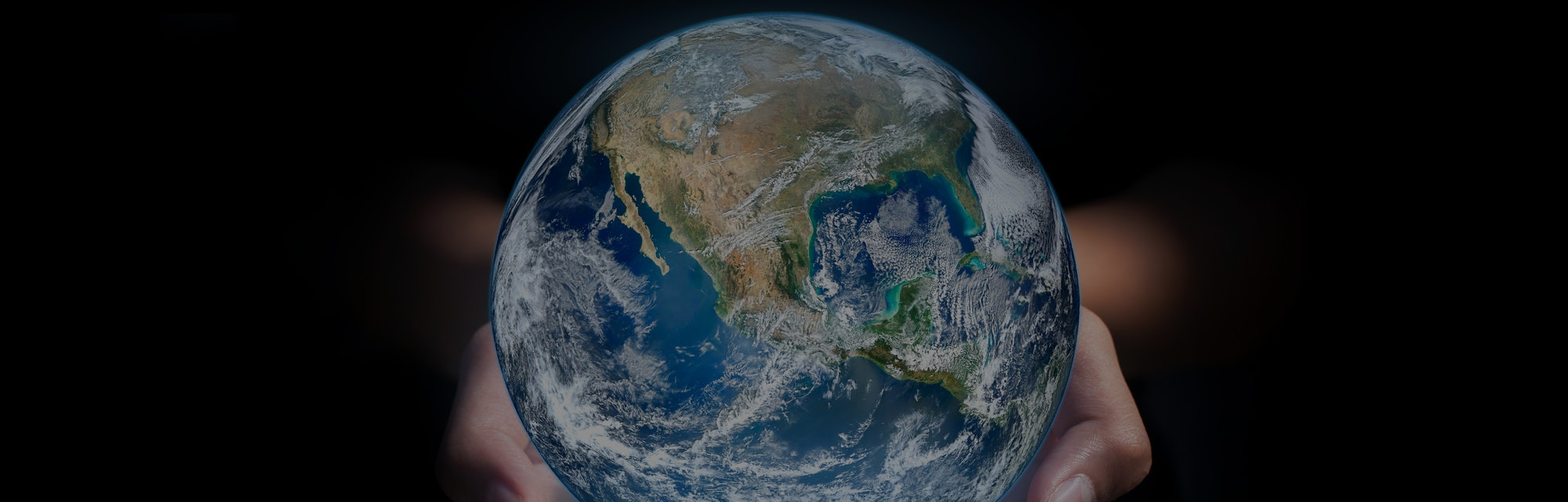 earth in hands. green planet on hand. save of earth. environment concept for background web or world...