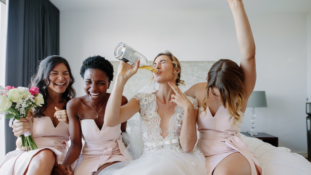 Here's the best part about being a bridesmaid.