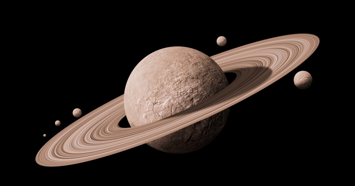 You need to see Saturn in the night sky this week