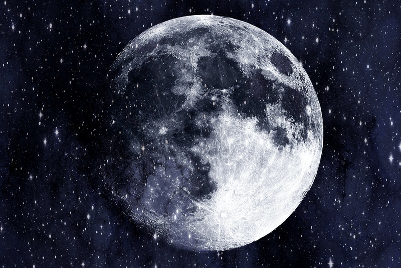 The moon phases have different meanings in astrology.