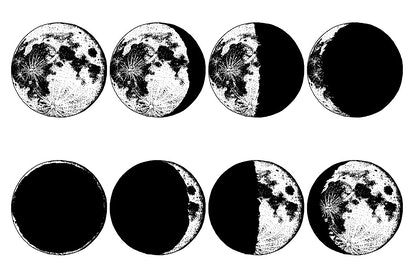 Moon phases have different meanings in astrology