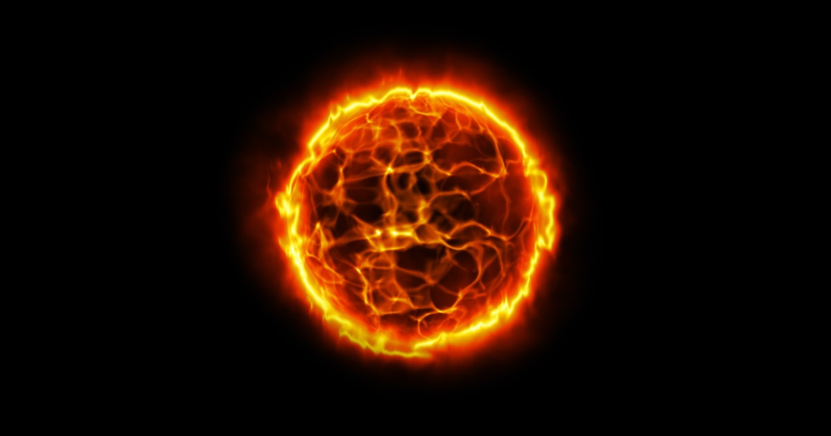 What does the Sun's core look like?