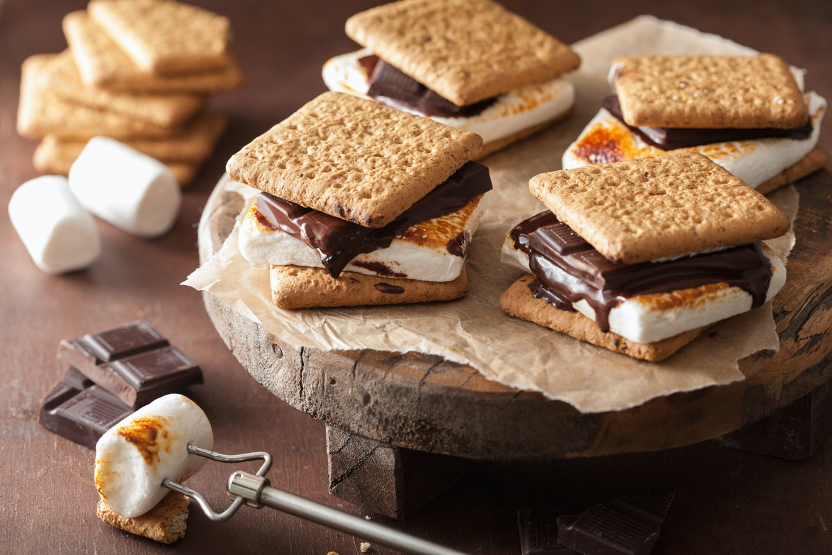 Here are some s'mores-flavored treats to celebrate National S'mores Day.
